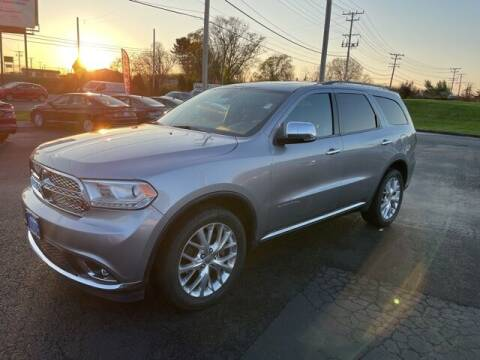 2015 Dodge Durango for sale at Ron's Automotive in Manchester MD
