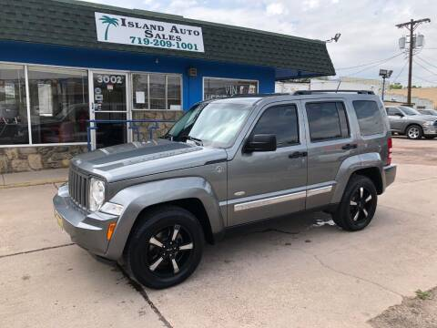 2012 Jeep Liberty for sale at Island Auto Sales in Colorado Springs CO