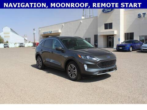 2020 Ford Escape for sale at STANLEY FORD ANDREWS in Andrews TX