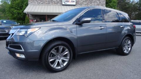 2010 Acura MDX for sale at Driven Pre-Owned in Lenoir NC