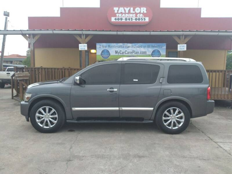 2010 Infiniti QX56 for sale at Taylor Trading Co in Beaumont TX