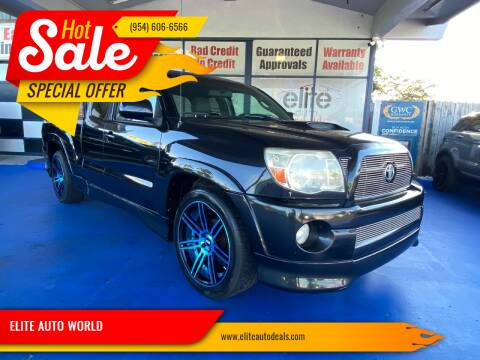 2005 Toyota Tacoma for sale at ELITE AUTO WORLD in Fort Lauderdale FL