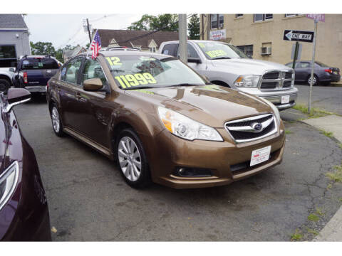 2012 Subaru Legacy for sale at M & R Auto Sales INC. in North Plainfield NJ