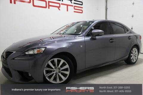 2016 Lexus IS 200t for sale at Fishers Imports in Fishers IN