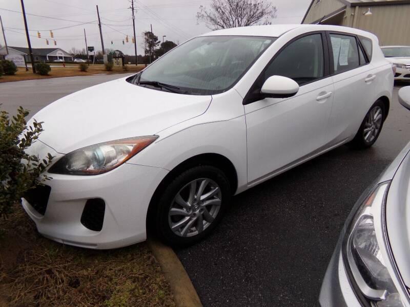 2012 Mazda MAZDA3 for sale at Creech Auto Sales in Garner NC