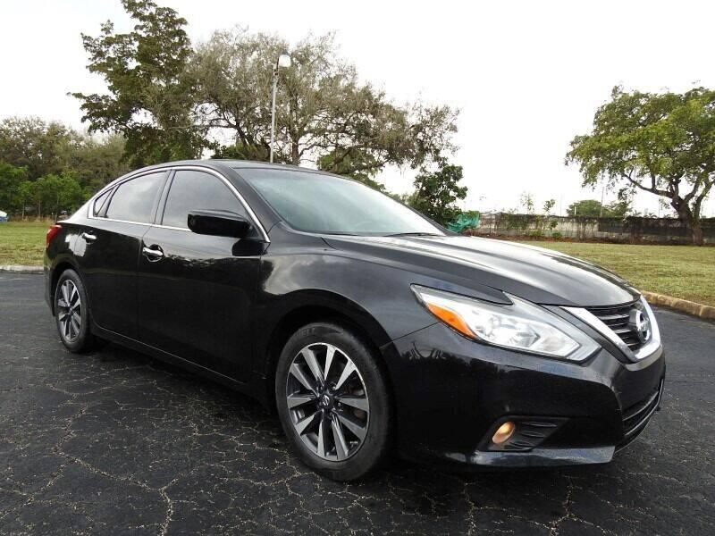 2016 Nissan Altima for sale at SUPER DEAL MOTORS 441 in Hollywood FL