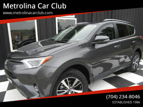 2018 Toyota RAV4 for sale at Metrolina Car Club in Matthews NC