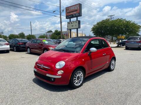 2012 FIAT 500c for sale at Autohaus of Greensboro in Greensboro NC