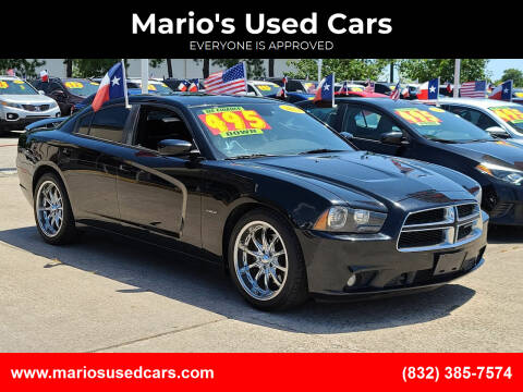 2012 Dodge Charger for sale at Mario's Used Cars in Houston TX