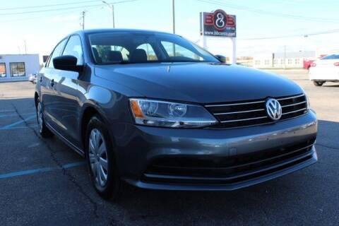 2015 Volkswagen Jetta for sale at B & B Car Co Inc. in Clinton Twp MI