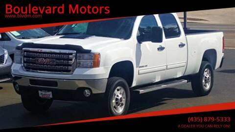 2014 GMC Sierra 2500HD for sale at Boulevard Motors in St George UT