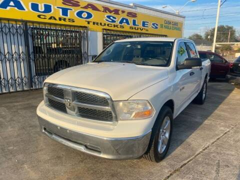 2009 Dodge Ram Pickup 1500 for sale at Sam's Auto Sales in Houston TX