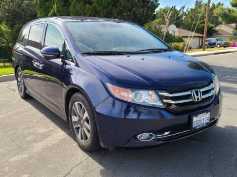 2015 Honda Odyssey for sale at CAR CITY SALES in La Crescenta CA