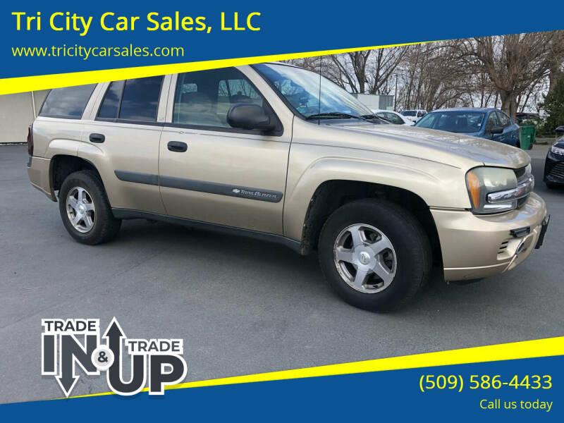 2004 Chevrolet TrailBlazer for sale at Tri City Car Sales, LLC in Kennewick WA