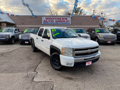 2009 Chevrolet Silverado 1500 for sale at Brothers Auto Group in Youngstown OH