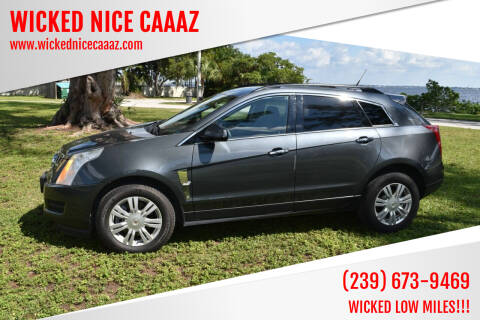 2010 Cadillac SRX for sale at WICKED NICE CAAAZ in Cape Coral FL