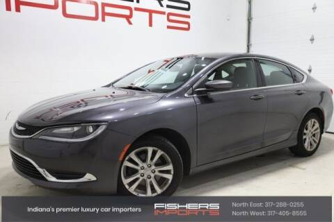 2015 Chrysler 200 for sale at Fishers Imports in Fishers IN