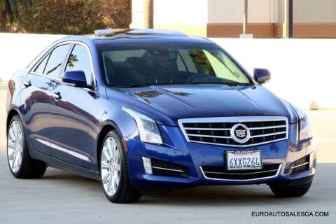 2013 Cadillac ATS for sale at Euro Auto Sales in Santa Clara CA