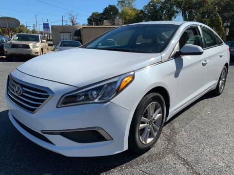 2016 Hyundai Sonata for sale at Modern Automotive in Boiling Springs SC