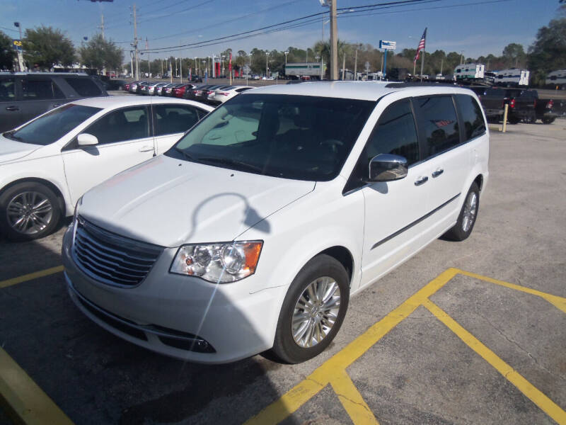 2015 Chrysler Town and Country for sale at ORANGE PARK AUTO in Jacksonville FL