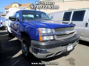 2004 Chevrolet Silverado 2500HD for sale at M J Traders Ltd. in Garfield NJ