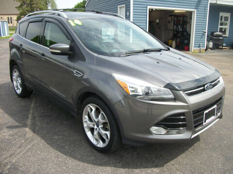 2014 Ford Escape for sale at USED CAR FACTORY in Janesville WI