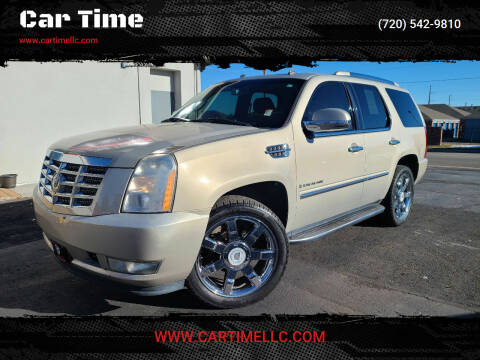2007 Cadillac Escalade for sale at Car Time in Denver CO