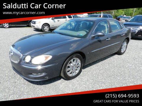 2009 Buick LaCrosse for sale at Saldutti Car Corner in Gilbertsville PA