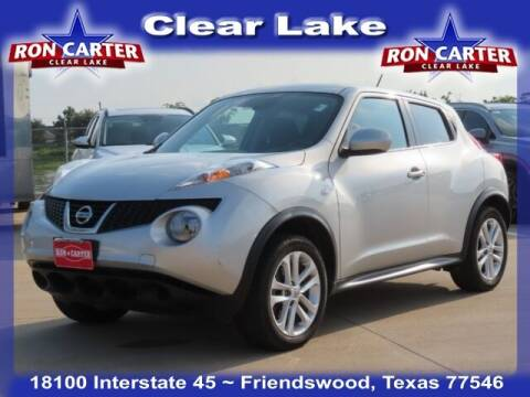 2014 Nissan JUKE for sale at Ron Carter  Clear Lake Used Cars in Houston TX