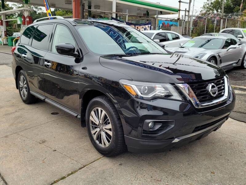 2018 Nissan Pathfinder for sale at LIBERTY AUTOLAND INC - LIBERTY AUTOLAND II INC in Queens Villiage NY