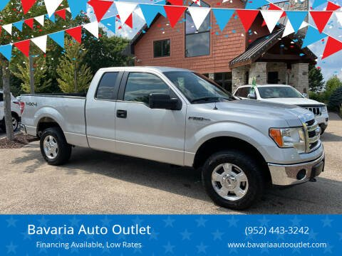 2013 Ford F-150 for sale at Bavaria Auto Outlet in Victoria MN