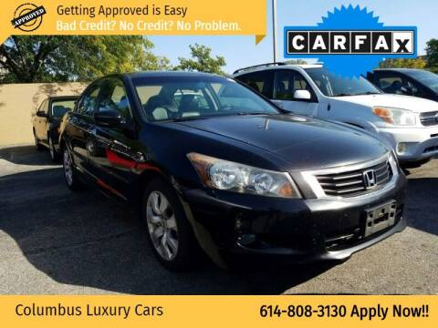 2009 Honda Accord for sale at Columbus Luxury Cars in Columbus OH