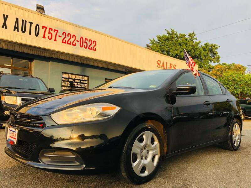 2015 Dodge Dart for sale at Trimax Auto Group in Norfolk VA