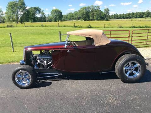1934 Ford Roadster for sale at 500 CLASSIC AUTO SALES in Knightstown IN