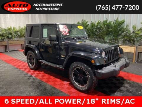 2012 Jeep Wrangler for sale at Auto Express in Lafayette IN