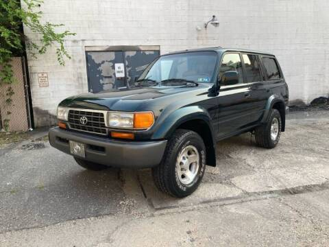1997 Toyota Land Cruiser for sale at Michaels Used Cars Inc. in East Lansdowne PA