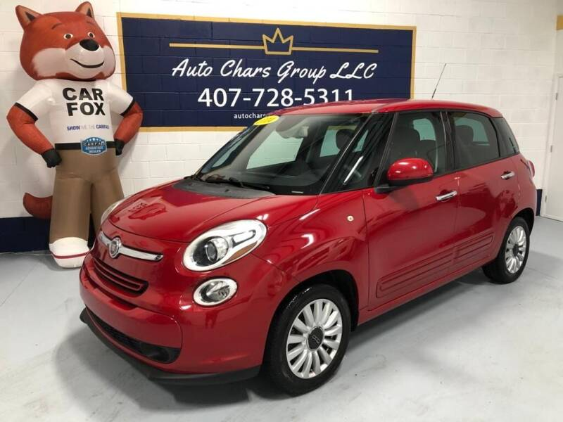2014 FIAT 500L for sale at Auto Chars Group LLC in Orlando FL