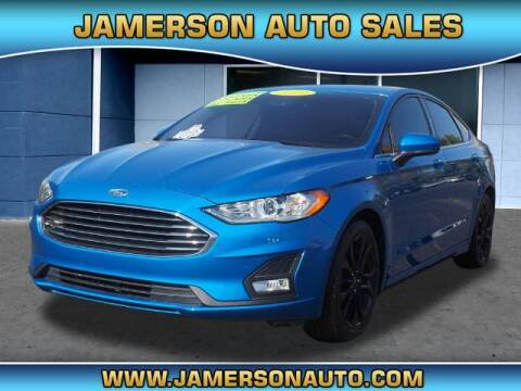2019 Ford Fusion for sale at Jamerson Auto Sales in Anderson IN