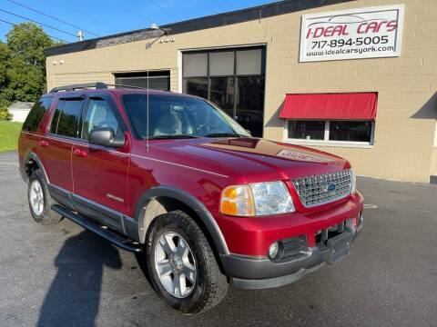 2005 Ford Explorer for sale at I-Deal Cars LLC in York PA
