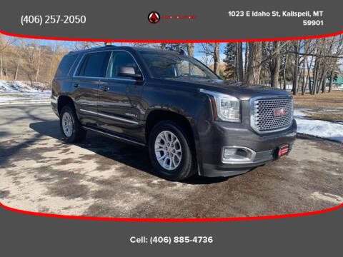 2015 GMC Yukon for sale at Auto Solutions in Kalispell MT