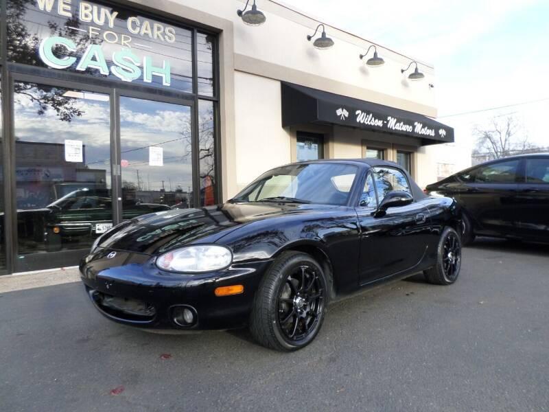 2000 Mazda MX-5 Miata for sale at Wilson-Maturo Motors in New Haven CT