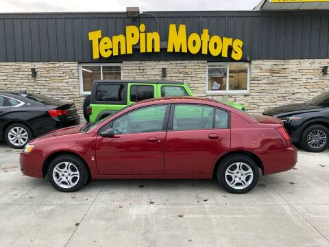 2005 Saturn Ion for sale at TenPin Motors LLC in Fort Atkinson WI
