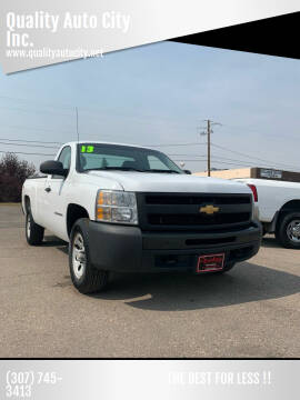 2013 Chevrolet Silverado 1500 for sale at Quality Auto City Inc. in Laramie WY
