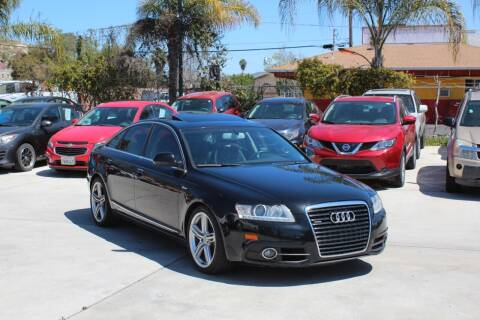 2011 Audi A6 for sale at Car 1234 inc in El Cajon CA