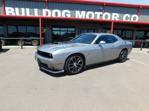 2016 Dodge Challenger for sale at Bulldog Motor Company in Borger TX