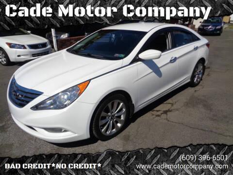 2013 Hyundai Sonata for sale at Cade Motor Company in Lawrenceville NJ