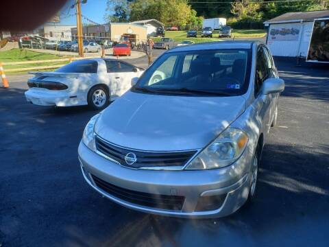 2012 Nissan Versa for sale at W V Auto & Powersports Sales in Charleston WV