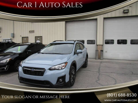2019 Subaru Crosstrek for sale at Car 1 Auto Sales in Murray UT
