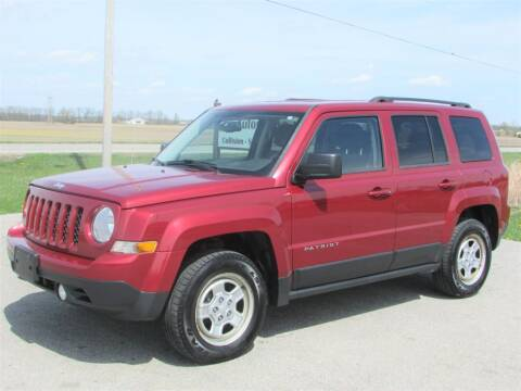 2016 Jeep Patriot for sale at 42 Automotive in Delaware OH