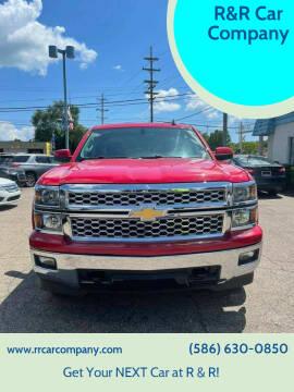 2015 Chevrolet Silverado 1500 for sale at R&R Car Company in Mount Clemens MI